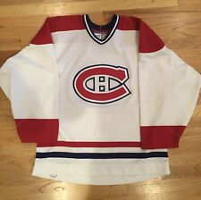 Montreal Canadiens Ultrafil Authentic NHL Hockey Jersey Size 52