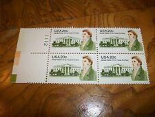US Postage 1981 James Hoban White House Architect  4 - 20c Stamps