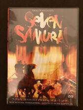 Seven Samurai (DVD, 2004) - 50th Anniversary Edition - NEW - Sealed Case!!!