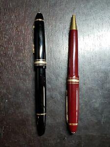 Pair of Montblanc Meisterstuck German Pens