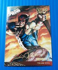 1995 Fleer Ultra Spider-Man Gold Foil Signature Series  CARD 119 HAWKEYE