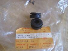KAWASAKI NOS BATTERY BOX DAMPERS (2) H2 S1 S2 S3 KH250  92075-076