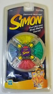 Electronic Hand-Held Simon - Hasbro - Vintage 1999 - New in Package