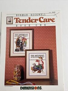 Dimensions - Norman Rockwell Tender Care Book 1 - Cross Stitch Pattern