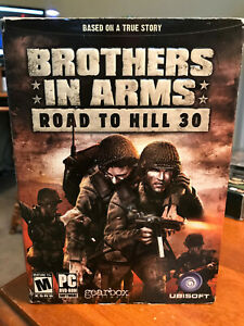 Brothers in Arms Road to Hill 30 - War PC with Case and Manual