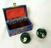 Vintage Chinese Baoding Balls Chime Therapy,Meditation, Hand Exercise.