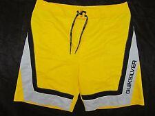 Quicksilver  Yellow Shorts SwimTrunks Suit  Mens 40