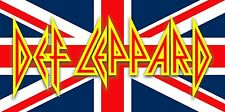 Def Leppard - Logo Hysteria Heavy Metal Magnet or Sticker