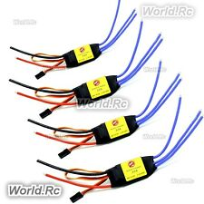 4 x SimonK 30A ESC Brushless Speed Controller 2-4S for FPV Drone F450 F550 X525