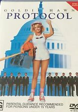 Comedy Protocol Goldie Hawn 1980's NTSC Region 4 DVD VGC
