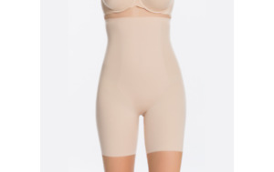 Spanx Trust Your Thinstincts High Waist Shaping Short Soft Nude Large A373825