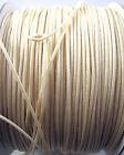 1.2mm Blanc & crème polyester Store, Festoon ou rideau Cordon - GRATUIT 1st