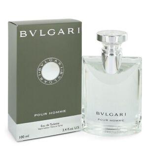 BVLGARI pour HOMME * 3.4 oz (100 ml) EDT Spray * NEW & SEALED * Bulgari