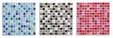 Piastrella 3d a mosaico mattonella da parete ritagliabili murali adesivi 30x30cm