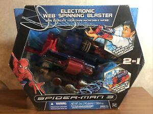 Spiderman 3 Electronic Web Spinning Blaster 2007 Hasbro New in box
