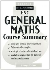 HSC General Maths Course Summary YEAR 12