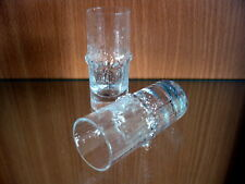 """2 Mid-Century Modern Iittala """"NIVA"""" Shot Glasses designed by Tapio Wirkkala"""