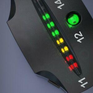 12V Motorcycle LED Display Voltmeter Meter Guage Volt Tester Battery Voltage