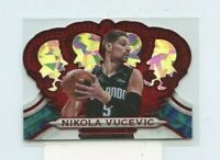 NIKOLA VUCEVIC 2018-19 Panini Crown Royale Red Crystal Parallel #D /49 Orlando