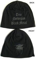 "DARK THRONE JERSEY BEANIE # 2 / MÜTZE / CAP ""TRUE NORWEGIAN BLACK METAL"""