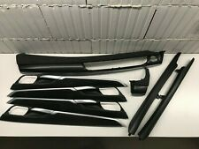 BMW X5 F15 Interior Trim Set Black Carbon Alcantara RHD
