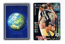 Los asistentes Premier League 2001-02 Newcastle United Nikos Dabizas Fútbol Tarjeta