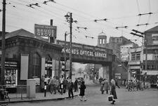 PHOTO  LONDON  BRUCE GROVE RAILWAY STATION 1961 ENTRANCE AND VIEW UNDER BRIDGE U