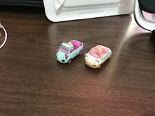 Shopkins Cutie Cars Diecast Metal Cars with Shopkins Moose Toys