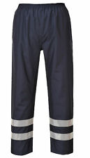 Portwest S481 Iona Lite Reflective Safety Work Pants with Snap Adjustable Hems