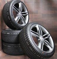 17 Zoll Alufelgen für Audi A6 4G 4G1 s-line design Winterräder grau 225/55 R17