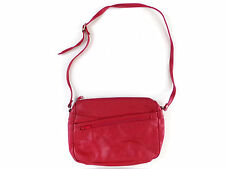 Red Leather Vintage Purse Shoulder Bag Partners By Mervyn's Womens