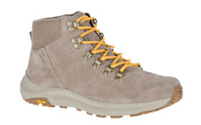 MERRELL - Women's Ontario Suede Mid Hiking Boots Brindle - US 8 NIB