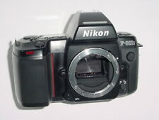 Nikon F-801S + MF-20 Data Back 35mm Film SLR Auto/Manual Focus Camera Body