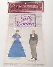 "Paper Dolls ""Little Women"" Tom Tierny, Pressure Sensitive Costumes, Diecut Dolls"