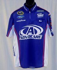 2015 Trevor Bayne Advocare Sprint Cup Race Used NASCAR Pit Crew Shirt Medium