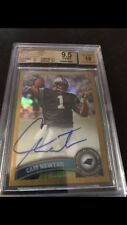 2011 Topps Chrome Gold Auto Cam Newton /10 Bgs 9.5- Amazing Card