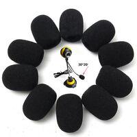 10X Handheld Stage Microphone Windscreen Foam Mic Cover Karaoke DJ Sales Black