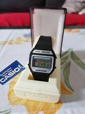 Super Rare Casio Melody M-12 H108 module 82 12 Melodies + 3 melodies! 80s watch!