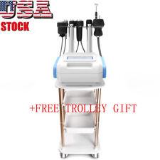 9in1 40k Cavitation Vacuum Roller Galvanic RF Body Slimming Machine+ Free Gift