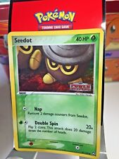"Seedot 60/108 ""Stamped"" ( Ex Power Keepers ) Holo Pokemon Card EX"