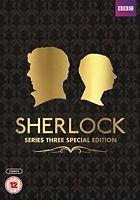 Sherlock Serie 3 Edizione Speciale DVD Nuovo Stagione 3 Third 3rd Serie Tre