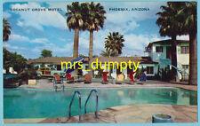 AZ Phoenix ~ COCANUT GROVE MOTEL ~ 2012 W. Van Buren ~ 1950s Roadside POOL PC