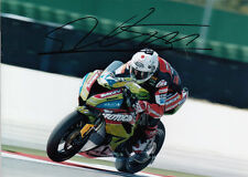 David Salom Hand Signed Kawasaki 7x5 Photo WSBK 3.