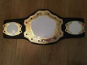 Deluxe Championship Title Belt, Wrestling Belt, MMA, Boxing, Kickboxing