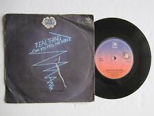"""REAL THING - CAN YOU FEEL THE FORCE - 7"""" 45 rpm vinyl record"""