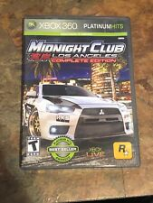 Midnight Club: Los Angeles -- Complete Edition Xbox 360 Works No Manual