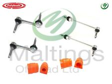 Discovery 3+4 Anti Roll Bar Kit Front+Rear Polybushes With Delphi Arb Links