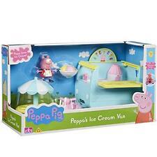 Nuevo Peppa Pig Ice Cream Van Juego Con Accesorios