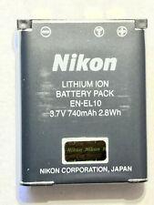 Genuine Nikon EN-EL10 Battery   (see list of compatible cameras)