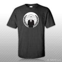 Anonymous Occupy America T-Shirt Tee Shirt Free Sticker
